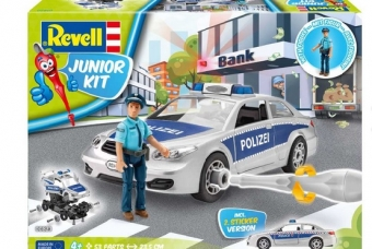 Police Car with figure - Junior Kit