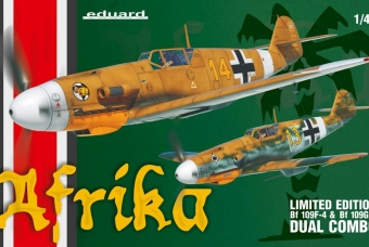 Afrika DUAL COMBO (Bf 109F a Bf 109G-2)