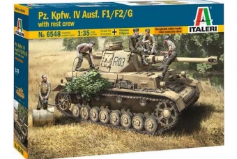 Pz.Kpfw. IV Ausf.F1/F2/G EARLY WITH REST CREW
