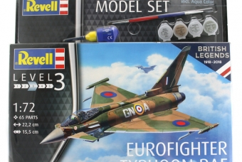 100 Years RAF: Eurofighter Typhoon RAF - Model Set - Revell