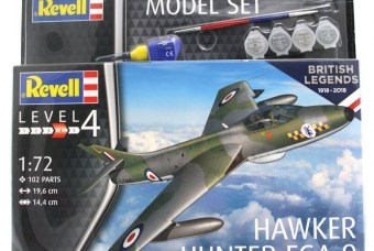100 Years RAF: Hawker Hunter FGA.9 - Model Set - Revell