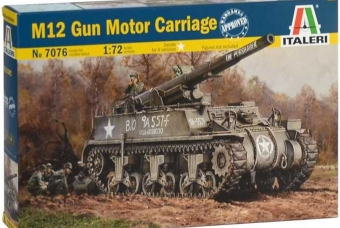 M12 Gun Motor Carriage - Italeri