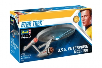 Plastic ModelKit Star Trek 04991 - U.S.S. Enterprise NCC-1701 (TOS) (1:600)