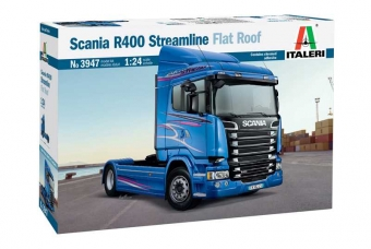 Model Kit truck 3947 - SCANIA R400 STREAMLINE Flat Roof (1:24)