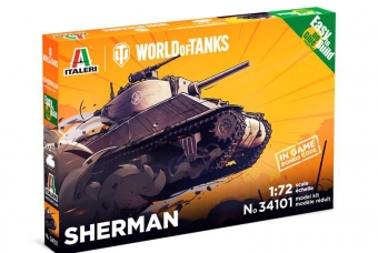 Easy to Build World of Tanks 34101 - Sherman (1:72)